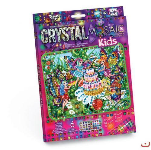 "Алмазная мозаика ""CRYSTAL MOSAIC KIDS"", ""Феи"" CRMk-01-08"