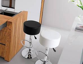 Стілець барний Піна білий, фото 2