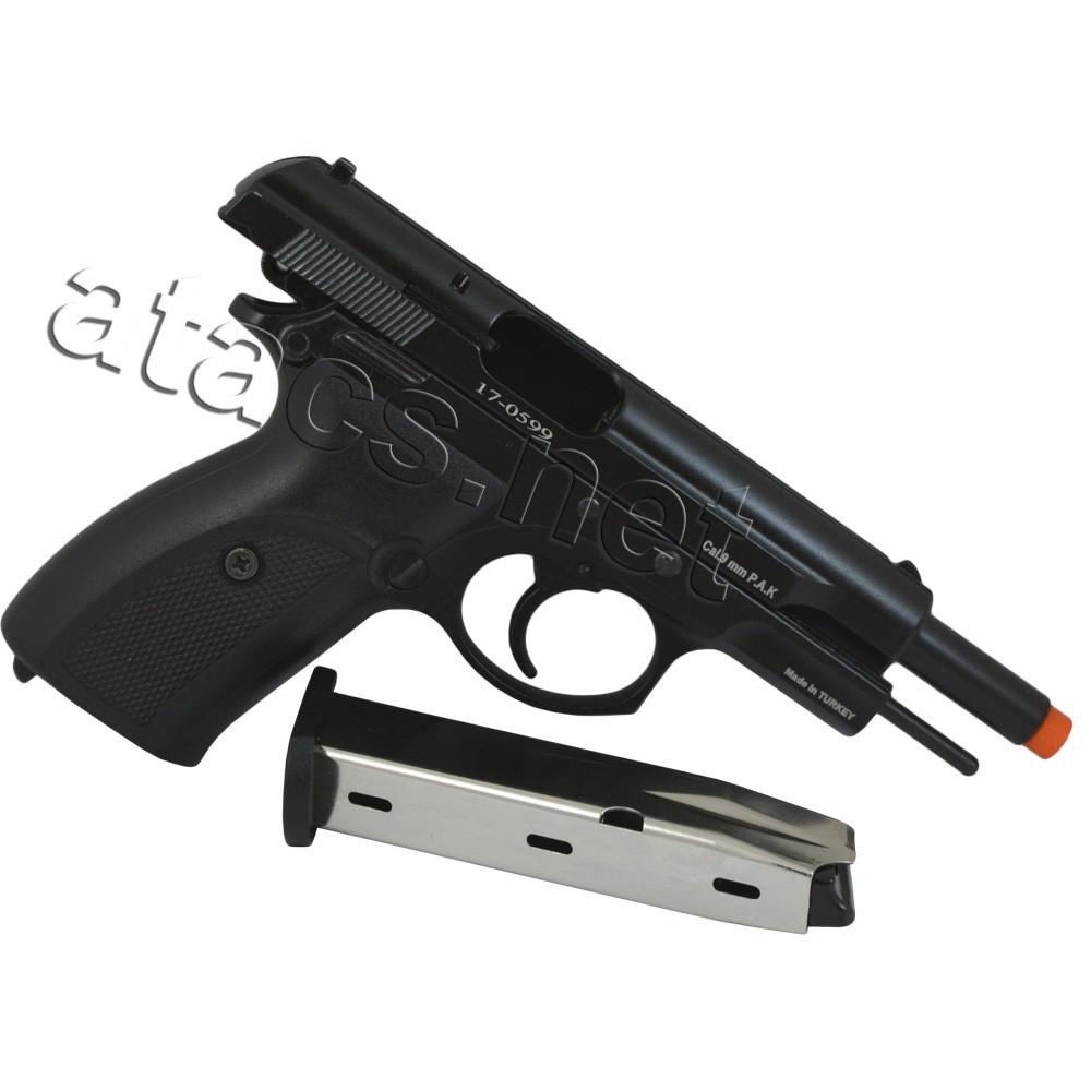 Пістолет стартовий Baredda S56 Black