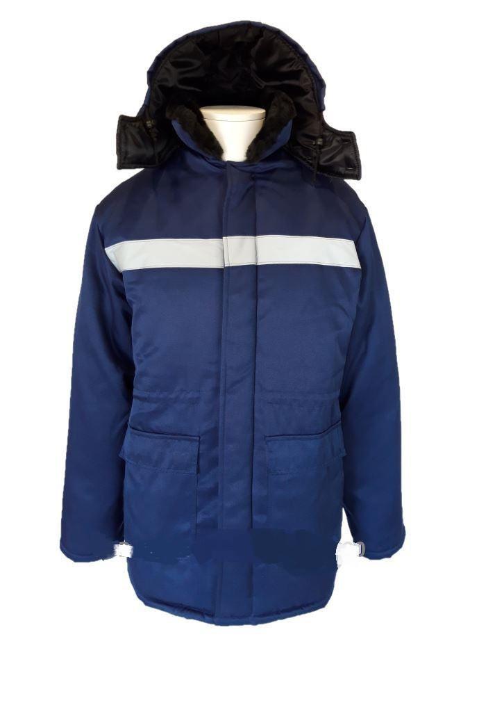 Куртка утеплена «Північ» з коміром та капюшоном
