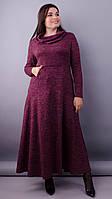 Платье Селфи бордо