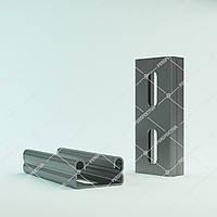 Профиль C-Solar 41х21х1,5 мм для солнечных панелей.
