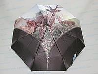 Женский зонт полный автомат с оленем