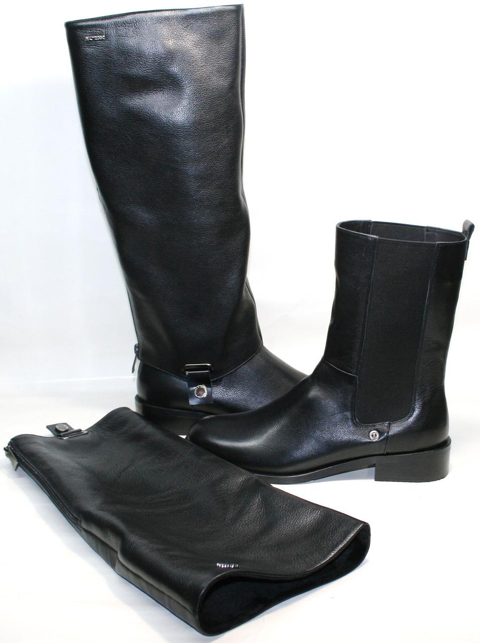 Зимние ботинки женские - сапоги зимние женские 2-в-1