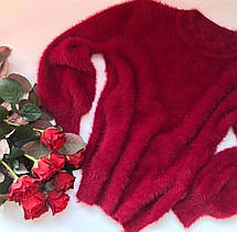 Женский свитер пушистый, фото 2