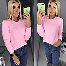 Женский свитер пушистый, фото 3