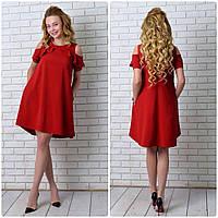 Платье  арт. 785 вишневое, фото 1