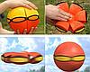 Мяч, летающая тарелка Phlat Ball, трансформер, плоский мяч, летающая тарелка + подарок, фото 6