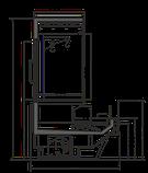 Холодильная витрина МИССУРИ MISSOURI COLD DIAMOND MC 115 CRYSTAL COMBI S M/A, фото 4