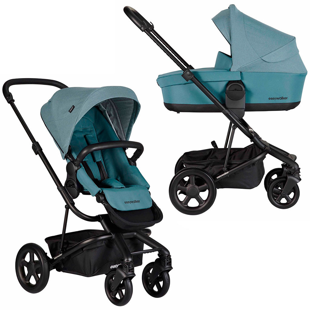 Универсальная коляска 2 в 1 Easywalker Harvey 2.0 / Ocean Blue