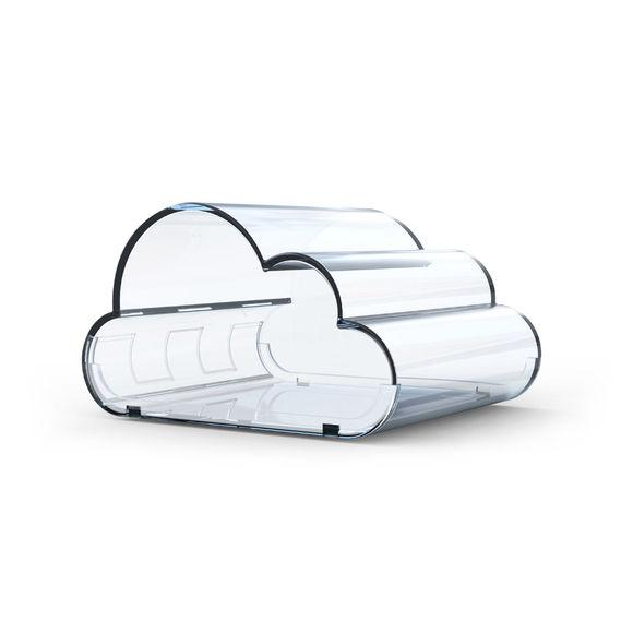 """Контейнер для ватных палочек """"Cloud"""""""