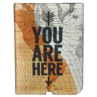 "Чехол ""You Are Here"" для Ipad Mini"