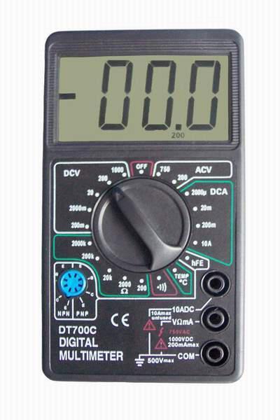 🔥 Мультиметр DT 700C со звуком и термометром