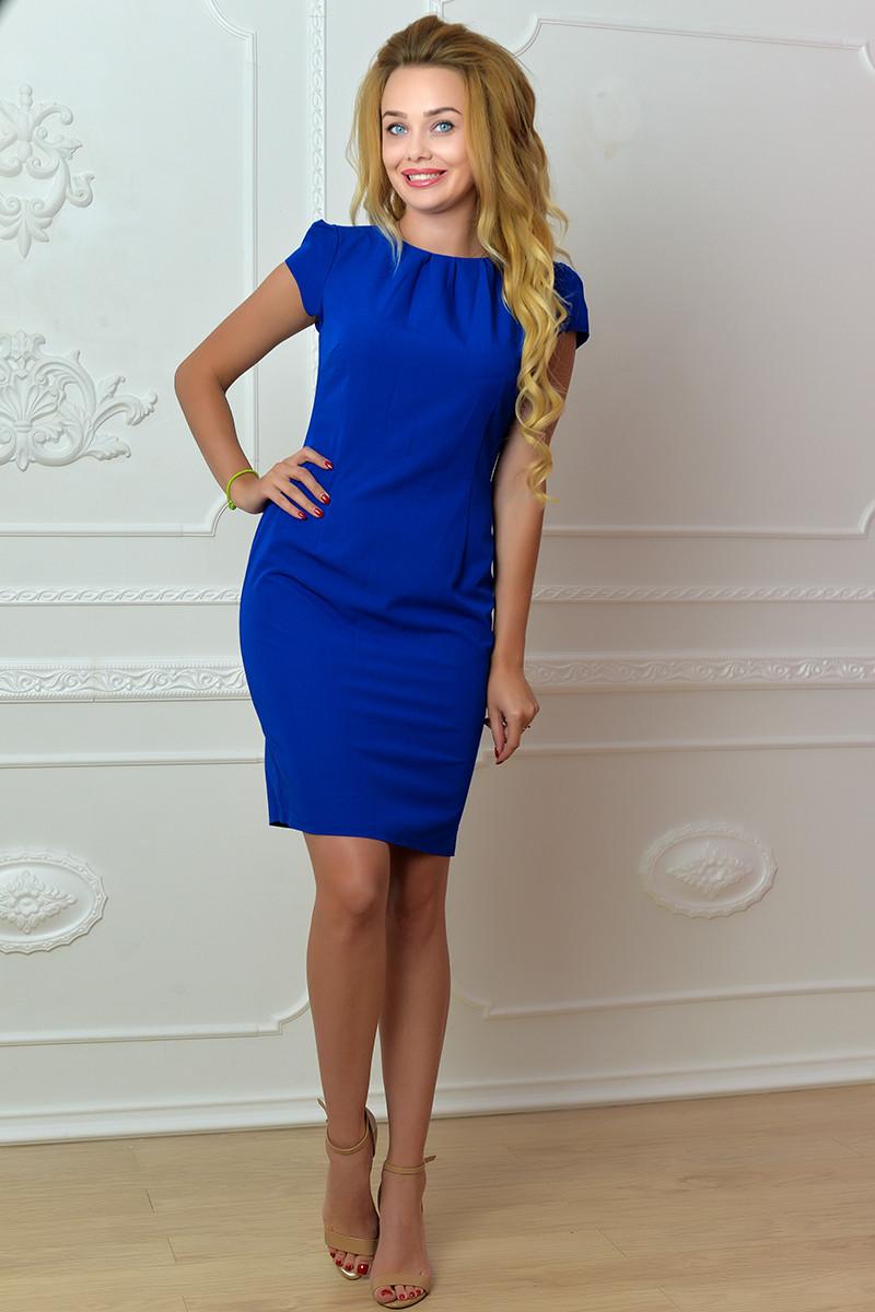 Сукня арт. 716, яскраво синє