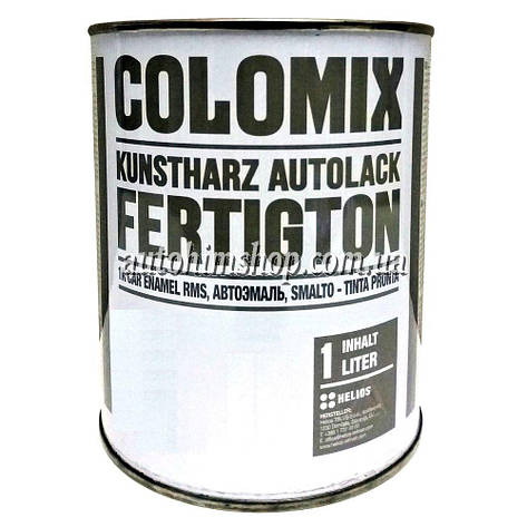 Автоэмаль алкидная Colomix Lada 464 синяя 1 л, фото 2
