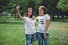"Футболка жіноча ""let's Party Bi*ches"" біла, фото 3"