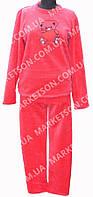 Пижама женская теплая, махровая с длинным рукавом р. 44-52