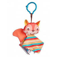 Tiny love подвеска-платочек Белка, Кролик и Енот