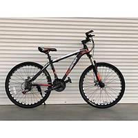 """Велосипед горный TopRider-611 26"""" оранжевый, фото 1"""