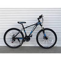 """Велосипед горный TopRider-611 26"""" синий, фото 1"""
