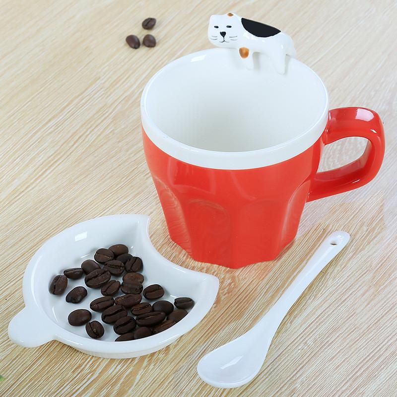 """Чашка """"Lazy cat"""", Китай подарочная"""