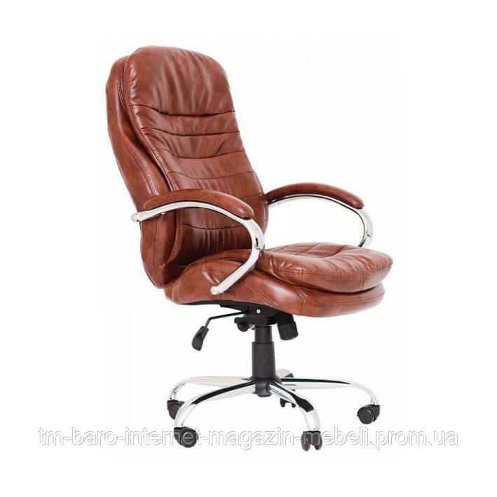 Кресло Валенсия В коричневый (Хром), Richman