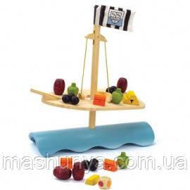 Деревянная игрушка - балансир из бамбука Hape Stormy Seas