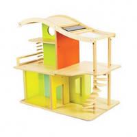 Деревянный конструктор домик из бамбука Hape Sunshine Dollhouse