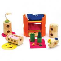Hape игрушка из бамбука набор мебели в дом
