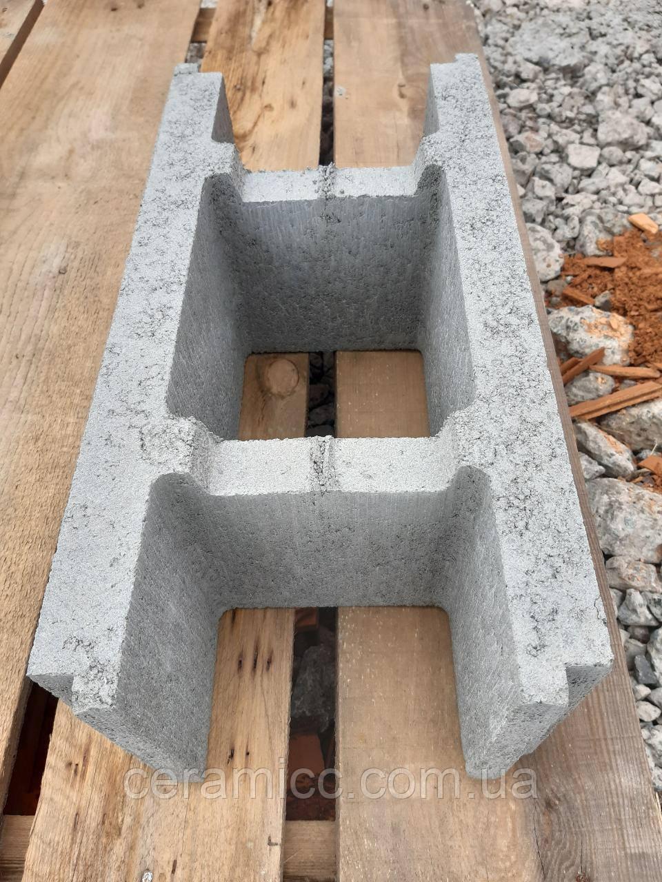 Блок Малый несъемной опалубки М-100, 250 мм