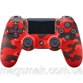 Геймпад PS4 Dualshock 4 V2 Red Camouflage