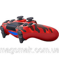 Геймпад PS4 Dualshock 4 V2 Red Camouflage, фото 2