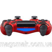 Геймпад PS4 Dualshock 4 V2 Red Camouflage, фото 3