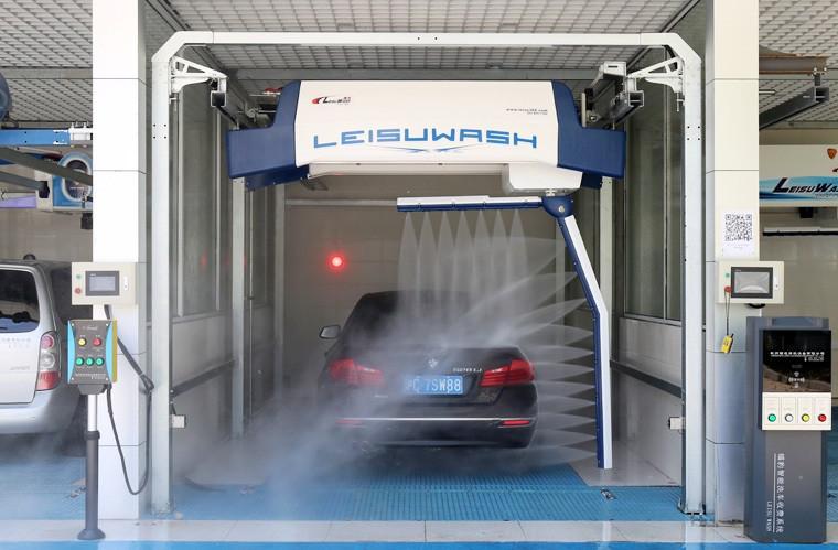 Leisu wash 360 полностью автоматическая мойка автомобилей.