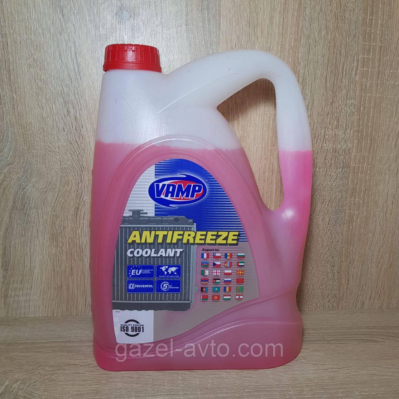 Антифриз красный (жидкость охлаждающая) -40°С 5 кг (пр-во ВАМП)