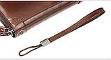 Чоловічий гаманець - клатч на блискавці, фото 5