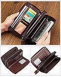 Чоловічий гаманець - клатч на блискавці, фото 6
