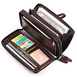Чоловічий гаманець - клатч на блискавці, фото 7