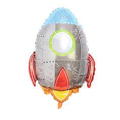 Фол шар фигура Ракета серебро (Китай)