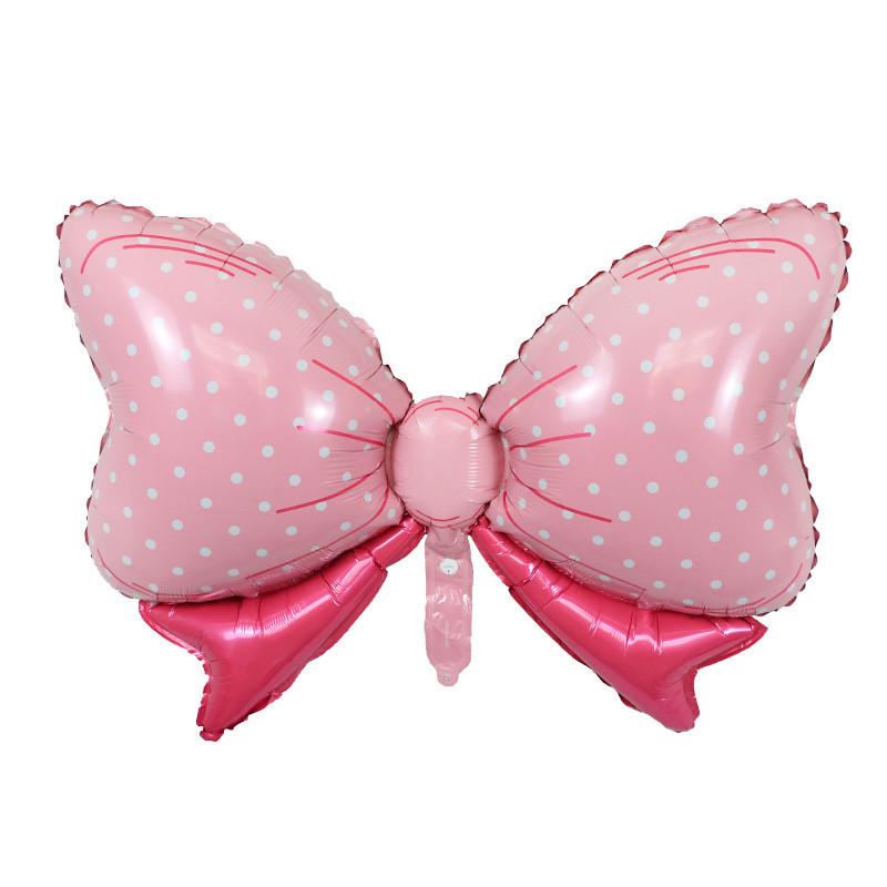 Фол шар фигура Бант розовый (Китай)