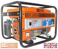 Генератор бензиновий InPower BSV2800H 2,5/2,8кВт