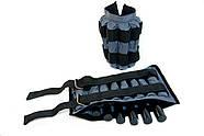 Утяжелительные манжети CROSS регульовані 4 кг, під вантажі 2х4 кг, 500 гр - 16 шт, фото 6