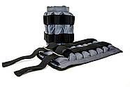 Утяжелительные манжети CROSS регульовані 4 кг, під вантажі 2х4 кг, 500 гр - 16 шт, фото 7