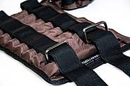 Утяжелительные манжети CROSS регульовані 4 кг, під вантажі 2х4 кг, 500 гр - 16 шт, фото 10
