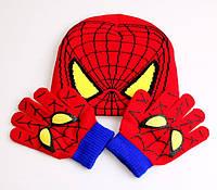Шапка и перчатки Spider Man (HSM0562)