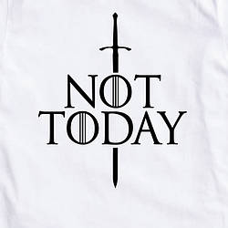 "Футболка GoT ""Not today"" жіноча"