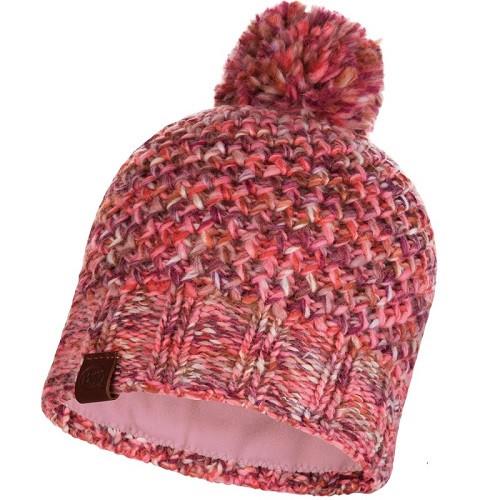 Шапка Knitted&Polar Hat Buff Margo Flamingo pink