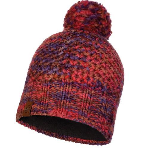 Шапка Knitted&Polar Hat Buff Margo Maroon