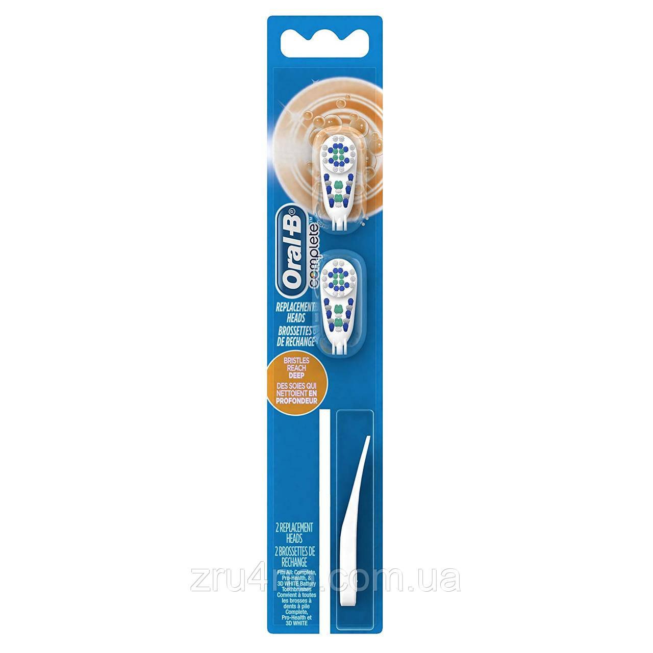 Насадки Complete для зубної щітки B1010F