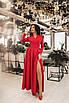 Женское платье в пол Красный, фото 2